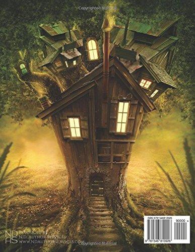 Gnome-Stump-Village-Blank-Sketchbook-Volume-19-Fantasy-150-Blank-Sketch