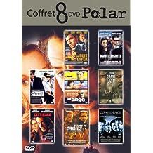 """Coffret """"Polar"""": Agents secret / Anthony Zimmer / Un ange / Une nuit en enfer / City by the sea / Scenes de crimes / Confidence / Back  the day - Coffret 8 DVD"""