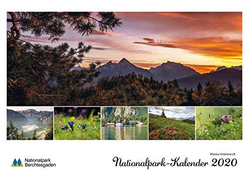Nationalpark Berchtesgaden Kalender 2020: Mit Mondphasen und Feiertagen - Kalender Film