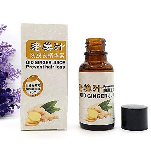 Symeas Jus de gingembre Essence anti-chute des cheveux Nourrir le cuir chevelu Accélérer la croissance des cheveux Essence anti-alopécie