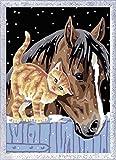 Ravensburger Malen nach Zahlen 28556 - Fohlen mit Kätzchen, Malset von Ravensburger Spieleverlag