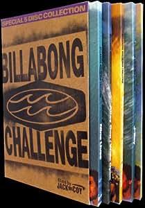 The Billabong Challenge 5-DVD Box Set - Region Free [Surfing]