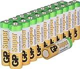 Batterien AA Mignon Super Alkaline Vorratspack 20 Stück [Markenprodukt GP Batteries]