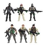 YIJIAOYUN 6 Piezas Gran Figura de Acción Soldados del ejército de...