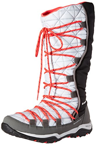 Columbia Damen Loveland Omni-Heat, Cool Grey/Laser Red, 8, BL1746 (Omni-8-schuh)