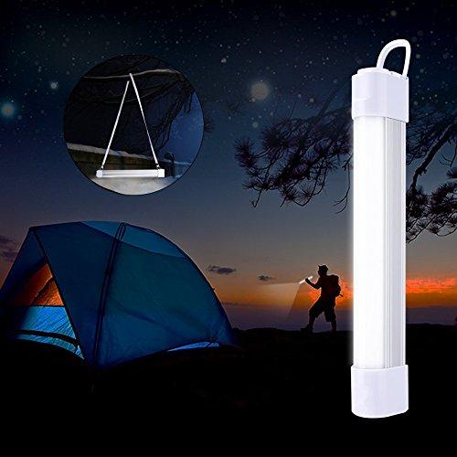 Vorally 5W Campinglampe dimmbar magnet Zeltlampe, wiederaufladbare Taschenlampe, Multi-Funktion Aussenleuchte für Camping, Angeln, Auto, Notfall, Stromausfall