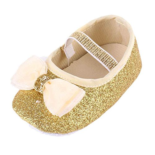 Voberry Baby Girl Flower Shoes Sneaker Anti-slip Hand Soft Toddler Shoes+1pc Hairband