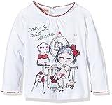 Brums Baby-Mädchen Schlafanzugoberteile T-Shirt M/L Jer. C/Croquette, Weiß (Optical White 01), 6M