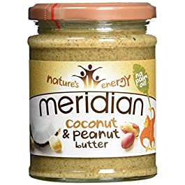 Meridian Natural Coconut & Peanut Butter 280 g Smooth