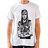 Fashion Mens T Shirt Printed T Shirt Men Summer T Shirt Axl Rose T Shirt