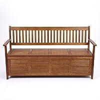 TRUESHOPPING Garden or Hallway Bench with Storage