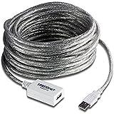 Câble d'extension USB 2.0 12m - Répéteur inclus - 36 m
