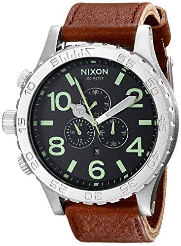 nixon-mens-a1241037-51-30-chrono-leather-watch