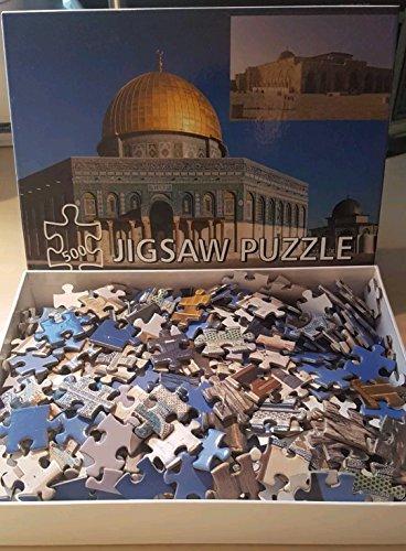 Puzzle von qubbat AL sakrah (Dome of the Rock) und Al Moschee Aqsa