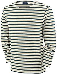 Saint James Men's Striped Long-Sleeved Top