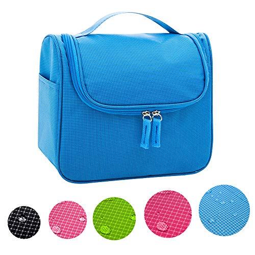 CINEEN Trousse/Organisateur/Sac de Toilette,Sac rangement Trousse cosmétique Organiser pour Vacance (Bleu)
