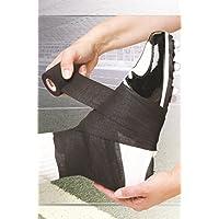 MUELLER Spatting Tape, leichtes, elastisches Krepp-Tape, schwarz, 7,5cm x 7m preisvergleich bei billige-tabletten.eu