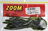 Zoom Bait G Tail Worm Bait-Pack Of 10 (Watermelon Seed, 6-Inch) - Super Salt+G -