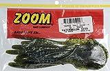 Zoom Bait G Tail Worm Bait-Pack Of 10 (Watermelon Seed, 6-Inch) - Super Salt+G -