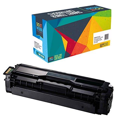 Preisvergleich Produktbild Do it Wiser ® Kompatible Toner CLT K504S für Samsung CLP 415 470 475 N NW | CLX 4195 FN FW | Xpress SL C1810 W | Xpress C1860 FW (Schwarz)