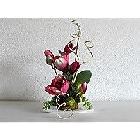 Blumendekoration Magnolie Genie