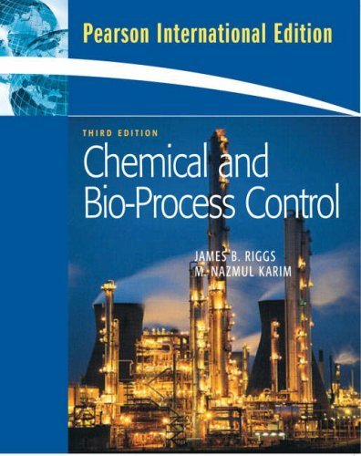Chemical and Bio-Process Control by James B. Riggs (2007-12-28)