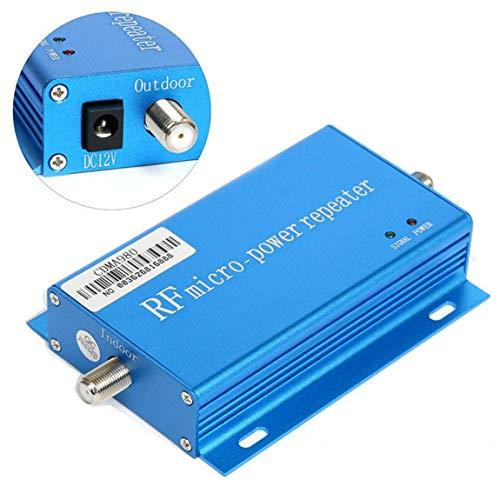 850 MHz CDMA Handy Signal 3G 4G Repeater Booster Verstärker mit Antenne High Grain Signal Extender Kit für Home Office (Farbe: blau) (Home-handy-signal-booster)