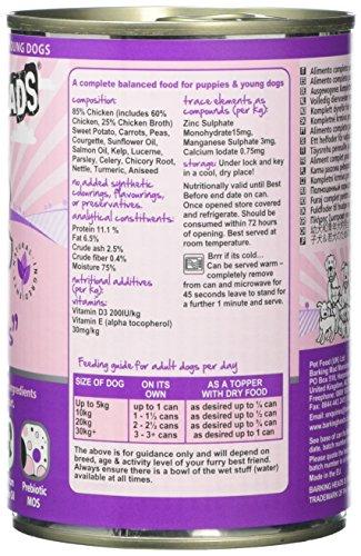 Barking Heads Wet Fat Dog Slim Dog Food Tins, Pack of 6 7