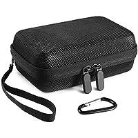 Faylapa Harte EVA Nylon stoßfeste Reisekoffer Tasche für HP Sprocket Portable Photo Printer (Schwarz)