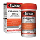 Best Krill Oil Supplements - Swisse Wild Krill Oil Dietary Supplement 500MG 40 Review