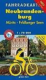 Fahrradkarte Neubrandenburg, Müritz, Feldberger Seen: Mit Mecklenburgischem Seen-Radweg. Mit Tourentipps. Maßstab 1:75.000. Wasser- und reißfest. -