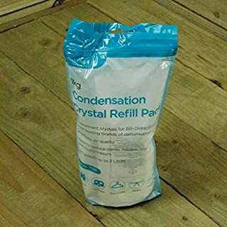 Ashley Housewares 1kg CONDENSATION CRYSTAL Household REFILL PACK for Dehumidifier