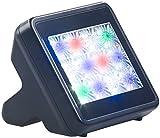 VisorTech Fernsehimitator: TV-Simulator zur Einbrecher-Abschreckung mit 12 LEDs inkl. Netzteil (Attrappe Fernsehen)
