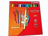 Buntstift - STABILO color - 24er Pack - mit 24 verschiedenen Farben