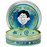"Crazy Aaron's Thinking Putty Fantasmas Reactivos UV - 4"" FOXFIRE"