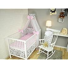 suchergebnis auf f r babybettw sche set mit himmel und nestchen. Black Bedroom Furniture Sets. Home Design Ideas