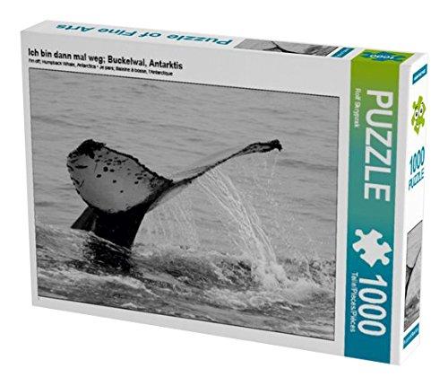 Ich bin dann mal weg; Buckelwal, Antarktis 1000 Teile Puzzle quer (CALVENDO Tiere)