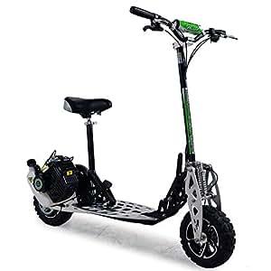 funbikes uber scoot 2x trottinette essence grande roue id al pour des terrains accident s. Black Bedroom Furniture Sets. Home Design Ideas