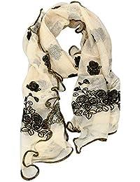 Damen Lange Schals Herbstschal Winterschal Warmer Schal Frauen Gedruckt Weichen Chiffon Schal Wrap Wraps Schal Schals Festliche Stola Mode d/ünner Seidenschal