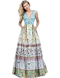 3ad91898063b Elegantissimo abito da cerimonia con fantasia damasco - Mod. 50788 - SHERRI  HILL