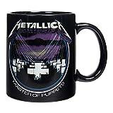 Unbekannt Offizielle Metallica Master of Puppets Tasse (Schwarz)