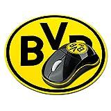 München Borussia Dortmund USB Funk Mouse & Mauspad, Mousepad - Plus Gratis Lesezeichen
