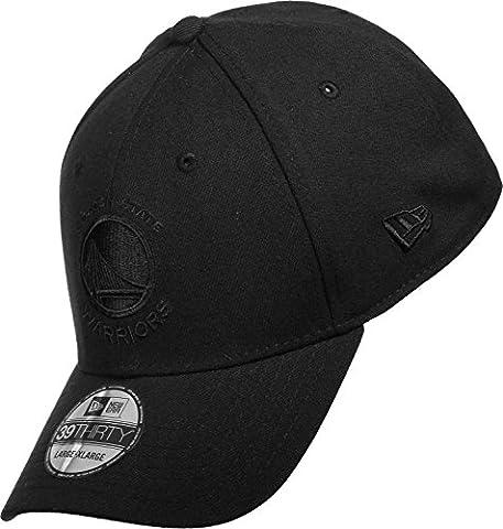 New Era 39Thirty Stretch Cap - Golden State Warriors noir