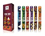 FengShui serie Premium bastoncini di incenso - bastoncini profumati - Apt per l'utilizzo a casa o Workplace- confezione da 6 di lunga durata Aroma Sticks - 120 profumo bastoni - Crea Mesmerizing Aura