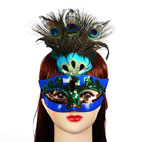 Webla Halloween Horror Party Damen Venezianische Maske