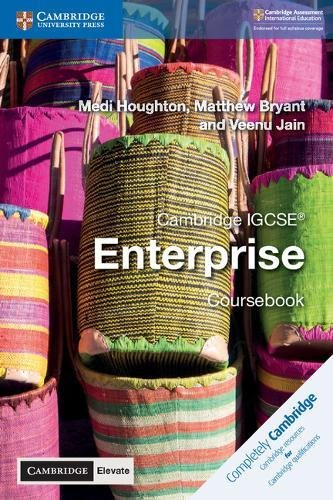 Cambridge IGCSE enterprise. Coursebook. Per le Scuole superiori. Con espansione online (Cambridge International IGCSE)