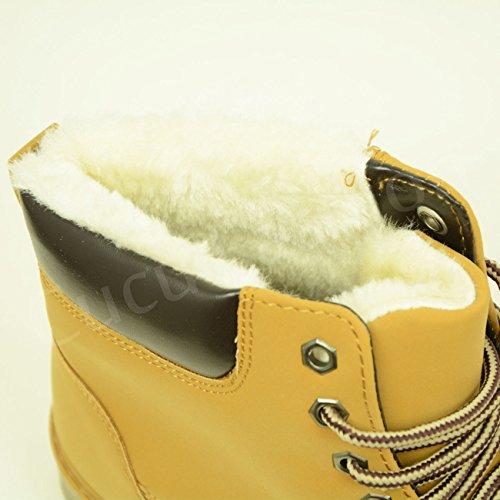 Cucu Fashion , Sandales Compensées femme Camel
