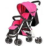 Passeggino passeggino buggy baby jogger travel buggy passeggino per bambini - leggero, compatto sicuro Easy Fold, adatto dalla nascita fino a 25 kg