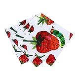 Talking Tables The Very Hungry Caterpillar; Papierservietten (kleine Raupe Nimmersatt-Motiv) für Baby- und Kindergeburtstage, Bunt, 33 cm (20 pro Pack in 1 Design)