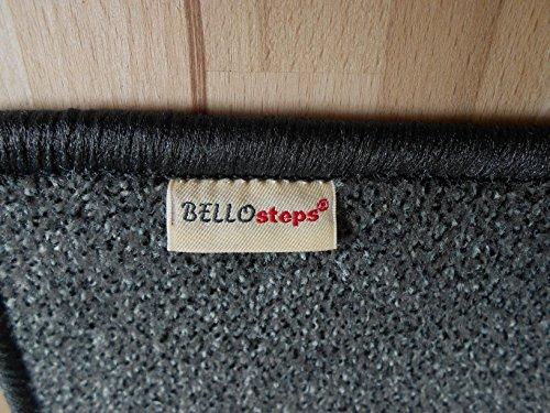 BELLOsteps Stufenauflage Selbsthaftend Fur Kleine Hunde Casino Anthrazit 15 Stck